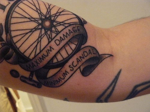Tags: cycling tattoo. This entry was posted on Wednesday, March 24th,