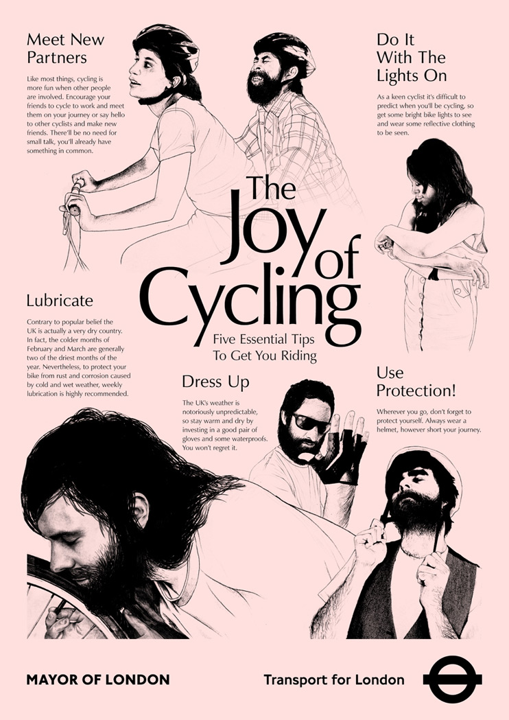Tags: lubricate, the joy of cycling, the joy of sex