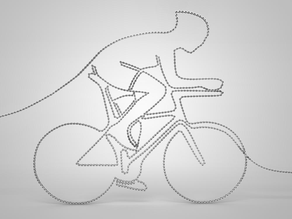 Single Weight Line Art : Milano fixed michette biciclette since